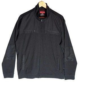 Men's Bomber Jacket Black Size XL Alfani Slim Fit